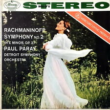 PAUL PARAY / Rachmaninoff Symphony No.2 / Original Mercury SR 90019 FR-2/FR-1 CB
