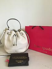 RRP £215 - Kate Spade Cream Leather WYATT MESSENGER Bag - New Without Tags