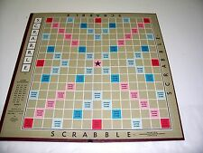 VINTAGE 1948 SCRABBLE GAME BOARD ONLY SELCHOW & RIGHTER