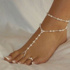 NEW Sexy Barefoot Anklet Foot Ankle Chain Toe Ring