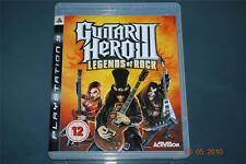 Guitar Hero III PS3 leyendas del rock Playstation 3 ** GRATIS UK FRANQUEO **