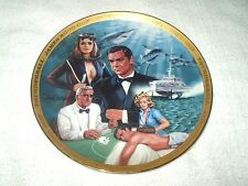 Franklin Mint Collector's Plate James Bond Thunderball