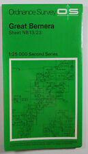 1977 OS Ordnance Survey Second Series Pathfinder Map Great Bernera NB 13/23