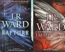 Complete Set Series - Lot of 6 Fallen Angel Books by J.R. Ward (Paranormal) PB