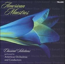American Maestros: Classical Selections Performed By American Orchestras and Con
