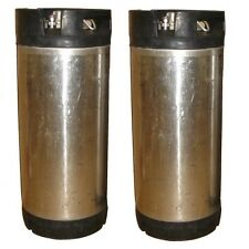 2 PACK 5 Gallon Reconditioned Pin Lock Kegs Great for Homebrewed beer or soda!