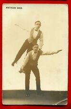 DANCE ON ROLLER SKATES WATHSON BROS VINTAGE PHOTO CARD 4238