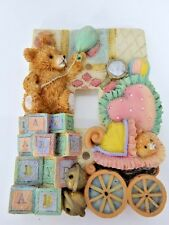 3D Baby Toddler Nursery Play Toy Bed Room Bear Light Switch Electric Cover Plate