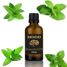 Peppermint Essential Oil 100% Natural 50ml Aromatherapy FREE UK P&P