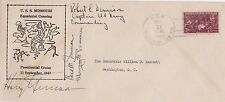 1947 FIRST DAY COVER SIGNED by PRESIDENT HARRY TRUMAN, BESS and MARGARET TRUMAN