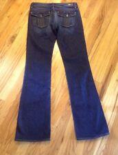 Paige Women's Stretch Cloverdale Back Flap Bootcut Jeans Mint Condition Sz 29 L