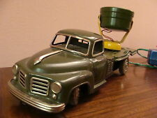 VINTAGE TRUCK TIN TOYS KS BATTERY JAPAN MILITARY CAMION MILITARE