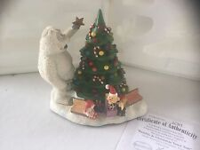 """Hawthorne Village Rudolph's Christmas Town """"Bumble & Christmas Town Tree"""