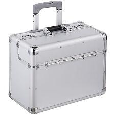Valise mallette de pilote en Alu pilot case trolley à roulettes avec poignée