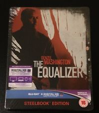THE EQUALIZER. UK Exclusive Limited (4000) Blu-Ray SteelBook. Region Free. New.