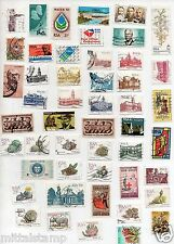 REPUBLIC OF SUID AFRIKA ~ SOUTH AFRICA 100 DIFFERENT USED STAMPS OLD & THEMATIC