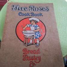FIVE ROSES COOK BOOK BREAD PASTRY Lake of the Woods Milling 1915 COOKBOOK