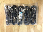 Lot of 5 HDMI to HDMI M/M Cable 6 ft HDTV Cord Wire Brand new xbox360 ps3 1080p