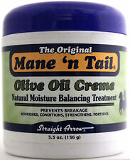 MANE 'N TAIL OLIVE OIL CREME HAIR/SCALP TREATMENT CONDITIONER  5.5 OZ.