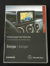 Genuine Mercedes SD CARD Garmin Mappa pilota 2016/2017 V6.1 ULTIMA VERSIONE
