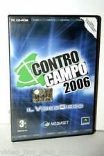 CONTRO CAMPO 2006 GIOCO USATO BUONO PC EDIZIONE ITALIANA 1 CD  22563