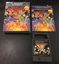 HTF VINTAGE MAGNAVOX ODYSSEY 2 P.T. BARNUM'S ACROBATS GAME COMPLETE IN BOX CIB