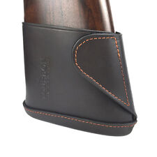 Tourbon Slip-on Recoil Pad Real Leather Butt Stock Holder Hunting Quick Closure