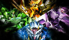 172 Mobile Suit Gundam 00 PLAYMAT CUSTOM PLAY MAT ANIME PLAYMAT FREE SHIPPING