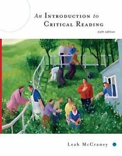 An Introduction to Critical Reading, Leah McCraney, Good Book