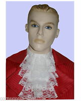 Mens lace jabot cravat.. 17th-18th C  Victorian Edwardian Regency Costume