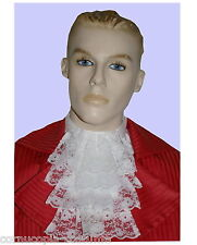 MENS LACE JABOT/CRAVAT. 17TH-18TH C & VICTORIAN EDWARDIAN REGENCY COSTUME