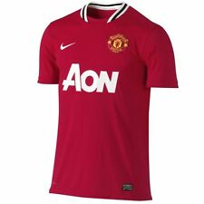 Authentic Manchester United Junior Home Shirt 2011- 2012, Size:  LB (11-12 Yrs)