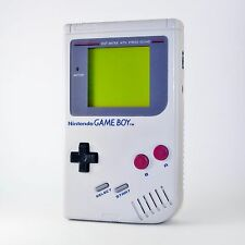 *RESTORED* ORIGINAL 1989 NINTENDO GAME BOY HANDHELD CONSOLE DMG *GLASS SCREEN*