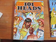 101 Heads in Pen Pencil and Brush Walter T Foster