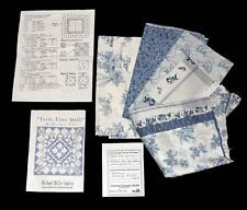 TOILE TIME QUILT Kit 40x40 Fabric for Top, Binding & Pattern Alexandra Dupre NIP