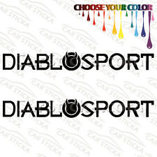 "2 of 8"" DiabloSport Tuning /B aftermarket performance car vinyl sticker decal"