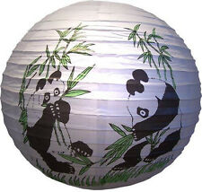 16'' Chinese Japanese Party Paper Lantern Good Luck Rich Bamboo Panda Home Decor