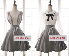 Trendy Kawaii Princess Cute Sweet Dolly Gothic Lolita suspender skirt Skirts