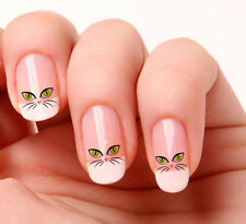20 Nail Art Stickers Transfers Decals #394 - Cats Eyes Just peel & stick
