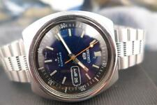 Classic Blue Dial 38mm SS Seiko 5 6319 6000 Day/ Date Automatic