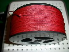 RED 325' 100% NYLON BRAIDED ROPE CORD STRING 1.4mm RED COMMERCIAL  GRADE