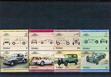 Tuvalu 1984 automobili cars 279-86  mnh