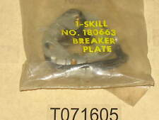 genuine SKILL 180663 ignition contact set Breaker plate points chain saw nos oem