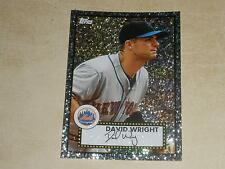 2011 Topps 52 Black Diamond Wrapper Redemption 4 David Wright