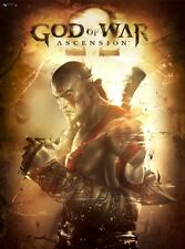 POSTER GOD OF WAR KRATOS II III ASCENSION CHAINS OF OLYMPUS 2 3 4 PS3 PS4 #1