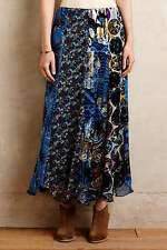 NWT Water & Wildflower Skirt by Anna Sui Orig $440.00 Size 2 anthropologie