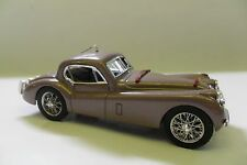 BRUMM 1:43 AUTO DIE CAST JAGUAR XK120 COUPÈ 1948 ROSA ANTICO OLD-ROSE  ART R106