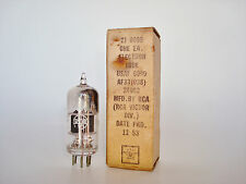 1953 RCA USAF 6099 AF33(038) 3-38A Vacuum Tube - Ops Checks Very Good