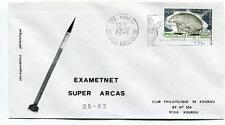 1975 Exametnet Super Arcas 35/83 Kourou Guyane Francaise Ville Spatiale SPACE