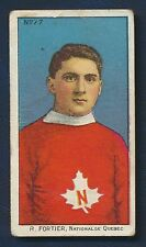 1910 C60 Imperial Tobacco Card #77 R. Fortier Quebec